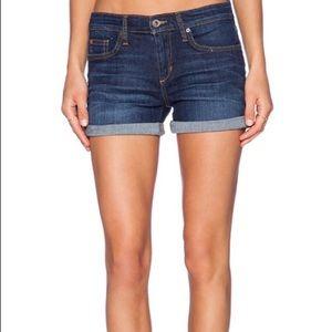 Joe's Jeans Raw Rolled Cuff Denim Jean Shorts 26